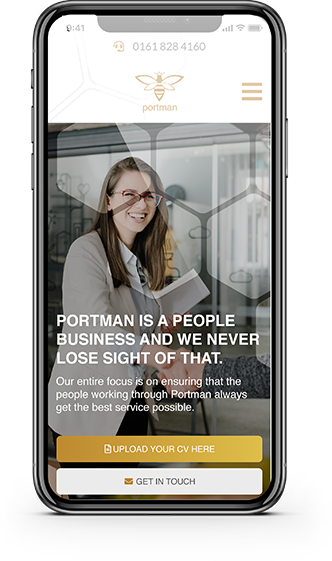 portman recruitment new website