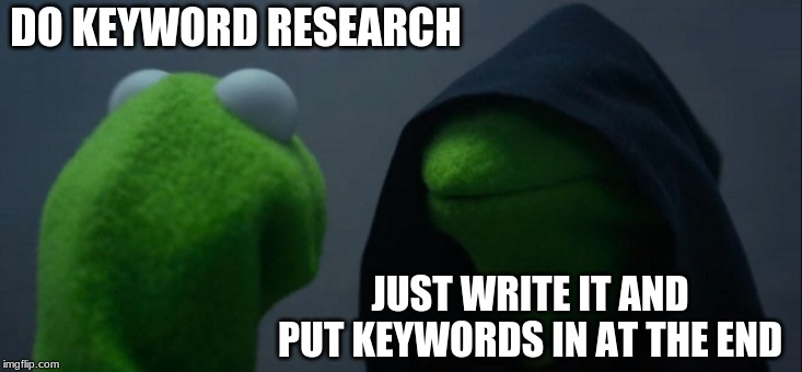 kermit for content writers