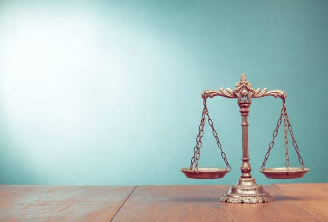 legal sector scales
