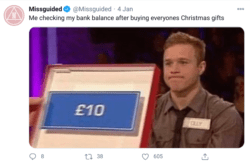 Missguided tweet