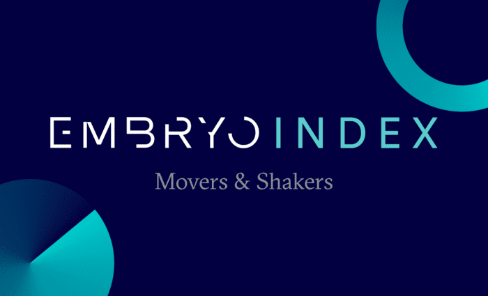 Embryo Index Feb Movers & Shakers