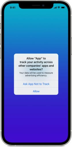 apple allow app to track
