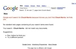 the arguments for not pursuing chuck norris