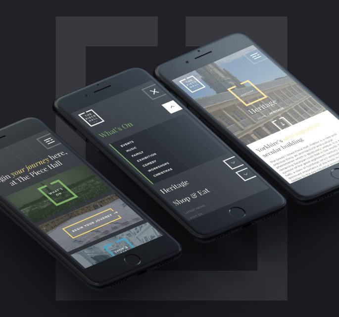 The Piece Hall website mobile