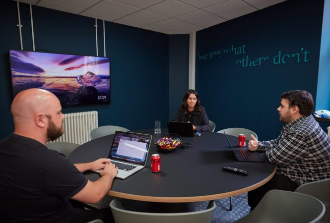 meeting room discussion